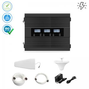 Mobile Signal Booster All Networks – Tri-Band – 300 sqm. (Power Line)